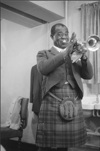 Louis Armstrong in a Kilt michael peto